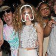 Lady Gaga quitte un studio d'enregistrement à New York, le 21 août 2013.