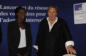 PHOTOS : Rama Yade et Gérard Depardieu... la rencontre !