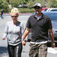 Britney Spears et son petit ami David Lucado à Calabasas, le 24 août 2013.