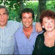 Pierre Huth, Bernard Montiel et Régine à Saint-Tropez en 1994.