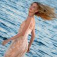 Eva Riccobono, la marraine de la 70e Mostra, photographiée à Venise le 27 août 2013.