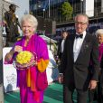 """""""La princesse Christina et son mari Tord Magnuson à la cérémonie de remise du Polar Music Prize 2013 à Youssou N'Dour et Kaija Saariaho, le 27 août 2013 à Stockholm"""""""