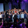 L'équipe du Grand Journal lors de la soirée de rentrée Canal + organisée à Paris, le 28 août 2013