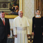 Rania de Jordanie : Religieusement belle au Vatican face au pape François