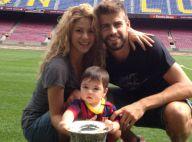 Shakira et Gerard Piqué: Fiers de leur bébé Milan pour ses premiers pas au stade
