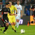 Falcaoau stade Vélodrome lors du match OM-AS Monaco le 1er septembre 2013 à Marseille.