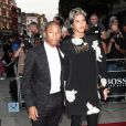 "Pharrell Williams sa compagne Helen à la soirée ""GQ Men of the Year Awards"" à Londres le 3 septembre 2013."