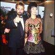 Anne Parillaud et Luc Besson lors du Festival de Cannes 1991
