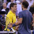 Rafael Nadal à l'US Open le 4 septembre 2013.