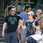 Chris Evans et Minka Kelly : Fous amoureux, ils s'éclatent à Disneyland !