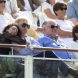 Boris Becker et sa femme Lilly Becker très complices lors de l'Optima Open 2013 à Knokke en Belgique, le 17 août 2013.