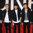 Le groupe One Direction à New York le 26 août 2013.