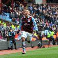 Gabriel Agbonlahor le 16 mars 2013 lors d'un match d'Aston Villa contre QPR