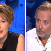 Fabrice Luchini, survolté, drague Natacha Polony... totalement sous le charme !