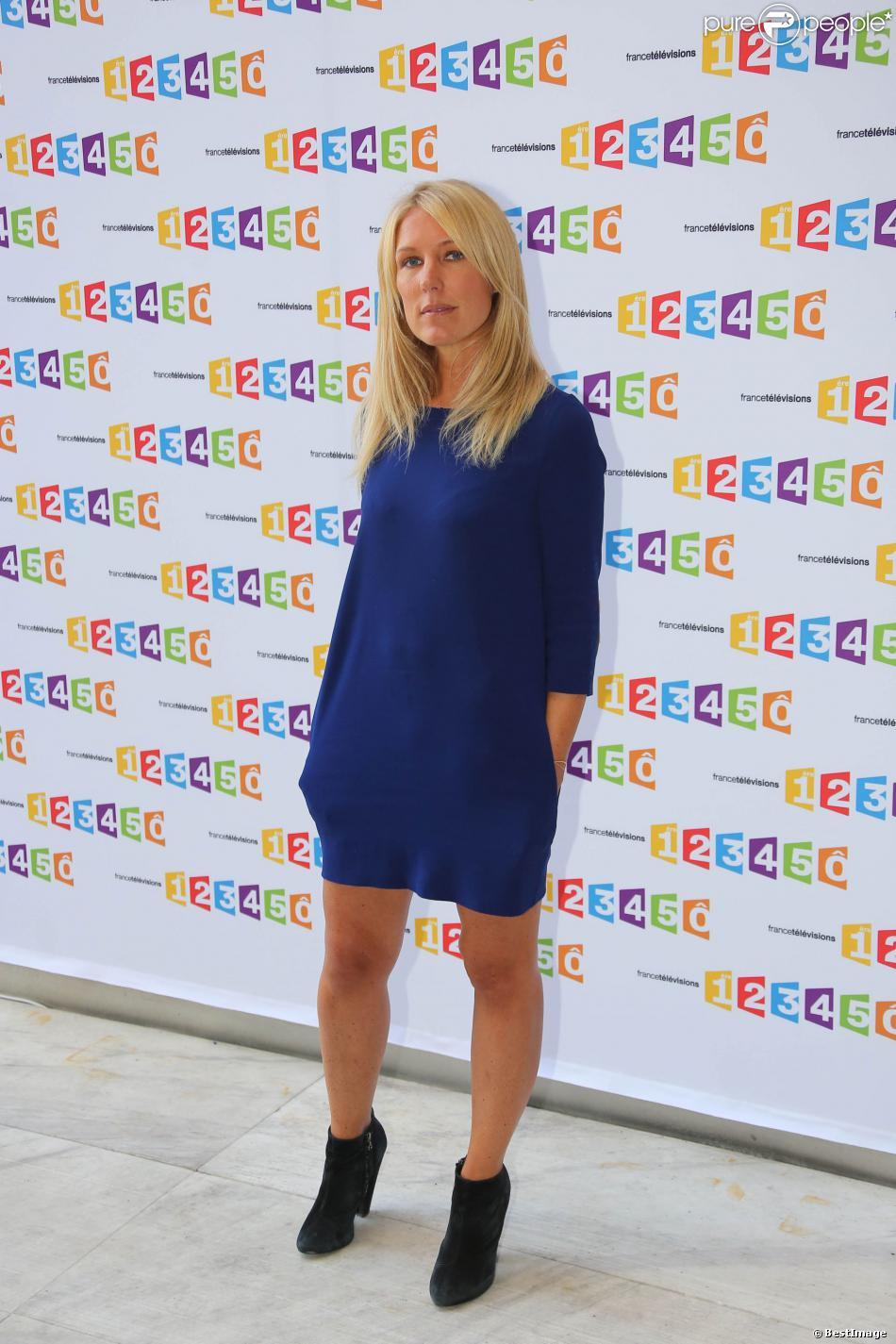 Agathe Lecaron en août 2012 à Paris