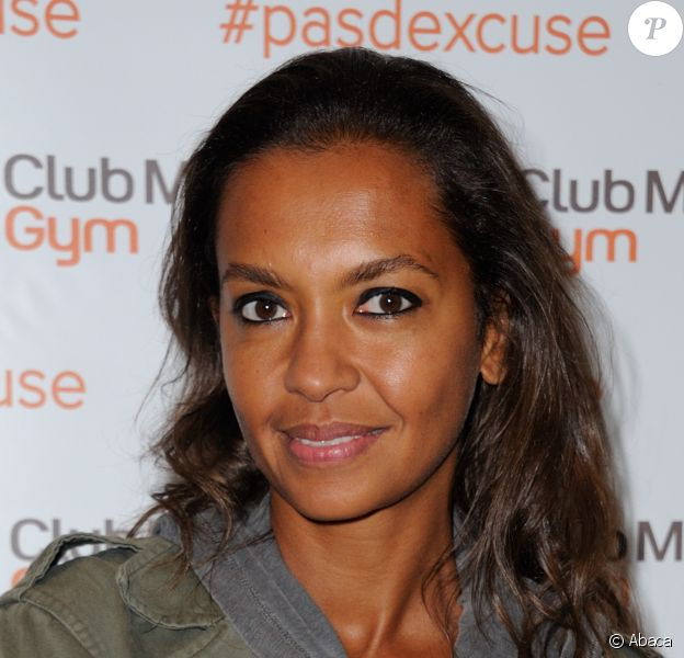 Karine Le Marchand pour l'inauguration d'un centre Club Med Gym à Issy-Les-Moulineaux, le 9 septembre 2013.
