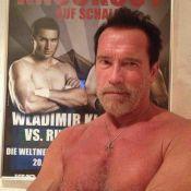 Arnold Schwarzenegger : Torse nu pour un duel avec le fiancé d'Hayden Panettiere