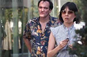 PHOTOS : Quand Quentin Tarantino prend un café, il est bien entouré !