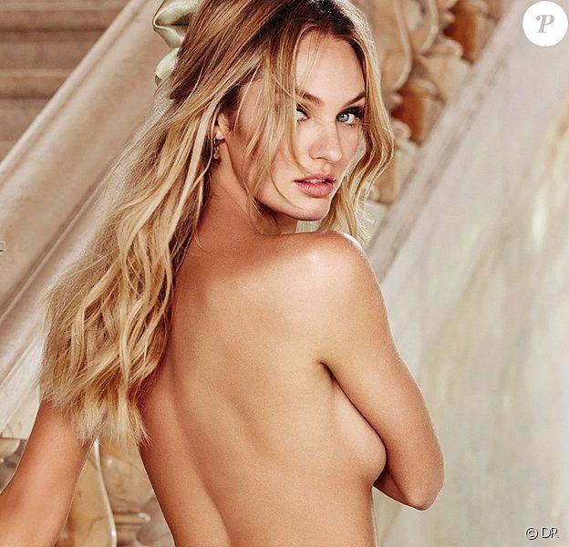 Candice Swanepoel, craquante et topless pour Victoria's Secret.