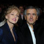 Arielle Dombasle et BHL croisent Hervé Morin et sa compagne enceinte