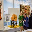 La reine Maxima des Pays-Bas inaugurait le 13 septembre 2013 à Leeuwarden les nouveaux locaux du Musée frison (Fries Museum).