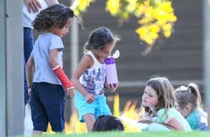 Jennifer Lopez : Max et Emme s'éclatent avec les jumeaux de Rebecca Romijn