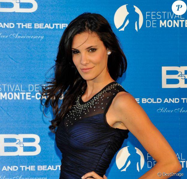Daniela Ruah lors du 52e Festival du Film de Monte-Carlo le 14 juin 2012