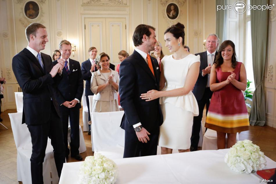 Felix de Luxembourg et Claire Lademacher  Vive les (éblouissants) mariés !
