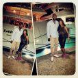 LeBron James et son épouse Savannah sur la côte d'Azur en août 2013, à Cannes