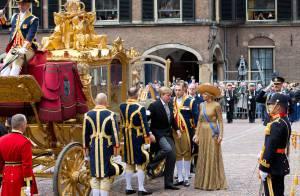 Reine Maxima : Épouse en or pour le 1er 'Prinsjesdag' du roi Willem-Alexander