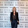 Kate Moss assiste à l'inauguration de la boutique Stuart Weitzman à Milan, le 19 septembre 2013.