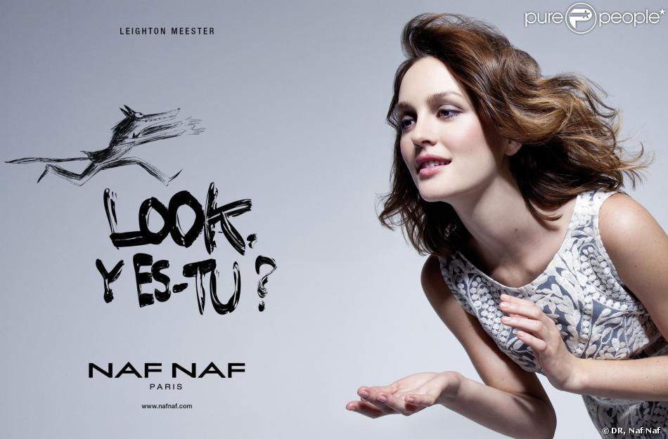 L'actrice Leighton Meester est la nouvelle égérie Naf Naf