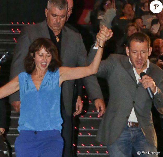 Valérie Bonneton et Dany Boon présentaient leur film Eyjafjallajokull à Lille le 20 septembre 2013