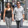 Exclusif - Tamara Ecclestone et son mari Jay Rutland, accompagné de Petra Ecclestone et sa fille Lavinia après une sortie chez Coffee Bean & Tea Leaf à Beverly Hills le 17 septembre 2013