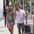 Tamara Ecclestone et son mari Jay Rutland en pleine séance shopping à Beverly Hills le 16 septembre 2013