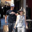 Kaley Cuoco et Ryan Sweeting le 4 août 2013 au Sun Cafe Studio de Los Angeles