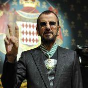 Ringo Starr : Peintre décoré et fier sous les yeux de sa femme Barbara Bach