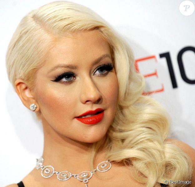 Christina Aguilera à New York, le 23 avril 2013.
