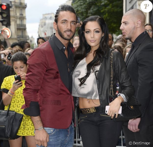 Nabilla et Thomas en juillet 2013 à Paris
