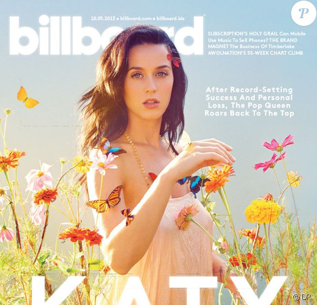 Katy Perry fait la couverture de Billboard, octobre 2013.