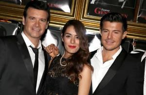 Sofia Essaïdi, divine et transparente, rayonne au milieu d'élégants 'Gentlemen'