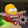 Homer dans un extrait du 24e Treehouse of Horror dans la série Les Simpson.