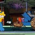 Extrait du 24e Treehouse of Horror dans la série Les Simpson.
