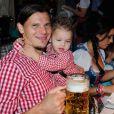 Daniel van Buytenà l'Oktoberfest à Munich le 6 octobre 2013.