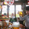 Pep Guardiolaà l'Oktoberfest à Munich le 6 octobre 2013.