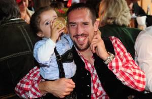 Franck Ribéry : Papa heureux avec ses enfants pour fêter la bière à Munich