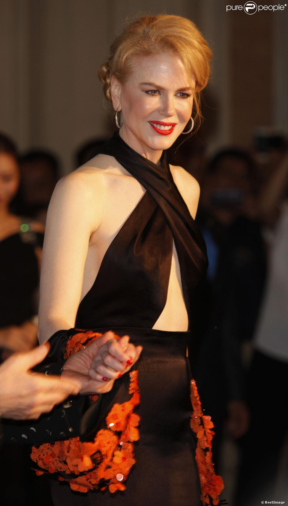 Nicole Kidman lors de la cérémonie des Huading Awards à Macao, le 7 octobre 2013.