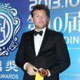 Sam Worthington lors de la cérémonie des Huading Awards à Macao., le 7 octobre 2013.