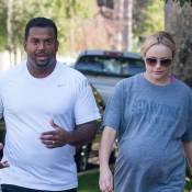 Alfonso Ribeiro : Carlton du Prince de Bel-Air en balade avec sa femme, enceinte