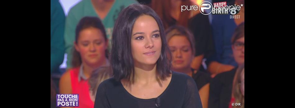 Alizée invitée de Touche pas à mon poste sur D8 le 9 octobre 2013